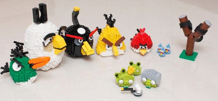 Green Pigs Angry Birds Set