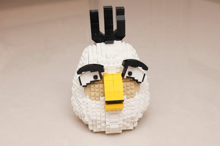 Egg Angry Birds Lego Build