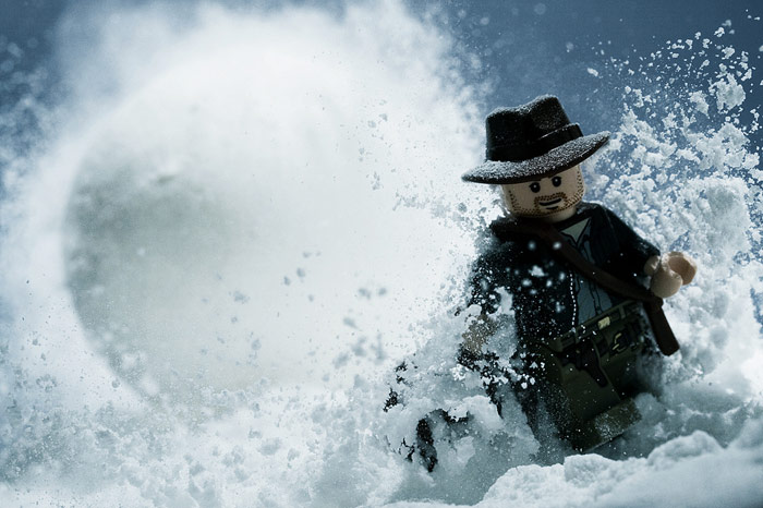 LEGO Star Wars Man Snow
