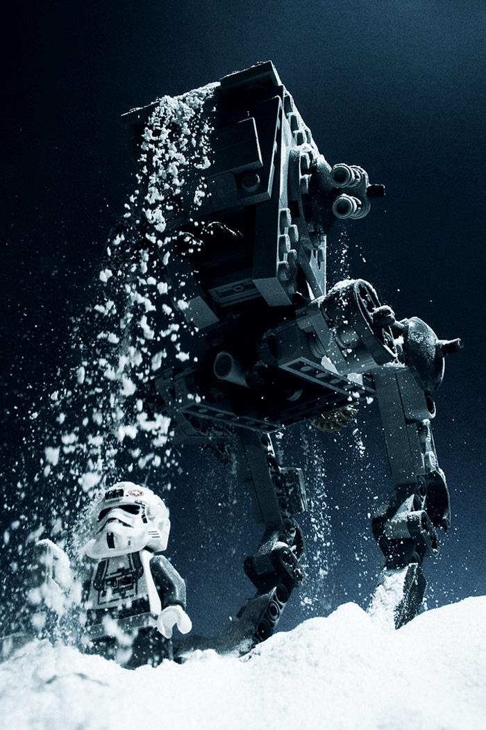 AT-AT Dropping Heavy Snow Stream