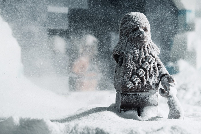 Chewbacca Missing In Arm Snow