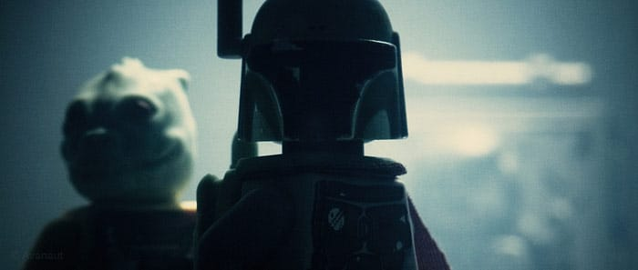 Boba Fett In Shadow Photo