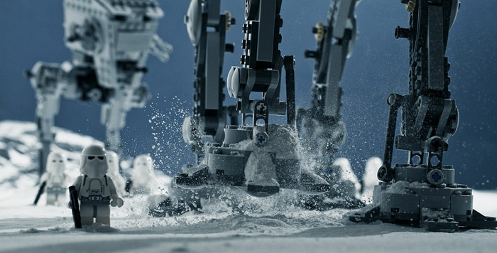 AT-AT Trample Heavy Snow Gust