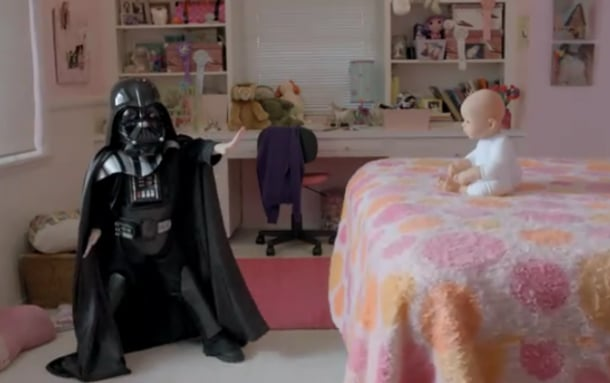 Baby Darth Vader's Discovery Of The Force