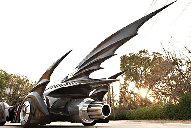 You Can Own The Original Batman Forever Batmobile