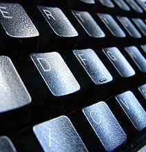 Get Instant Geek Cred: Colorful Keyboard Flip Flops