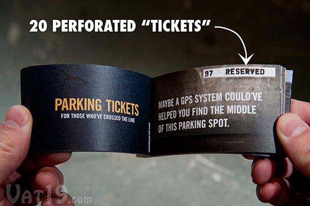 Bad Parker Violation Tickets