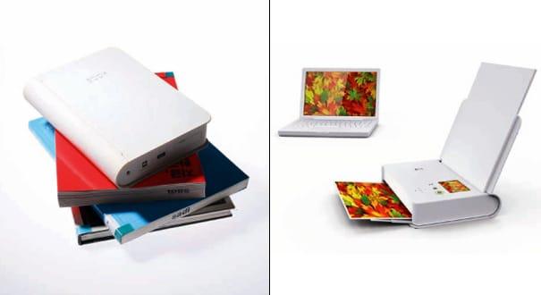 Mobile Device Book Printer Views