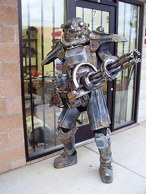 Fallout Cosplay Costume Mini Gun