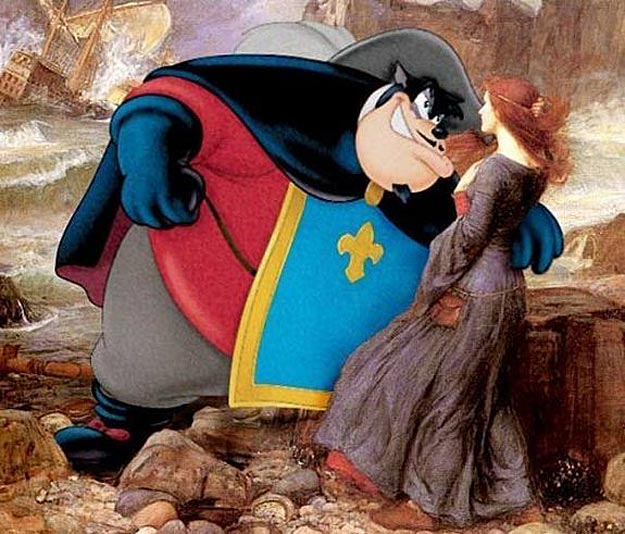 Cartoon Characters In Classic Paintings