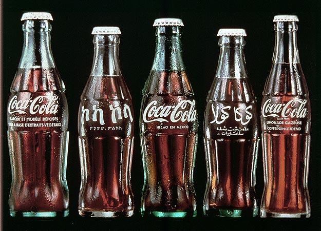 Glass Coca Cola Bottles