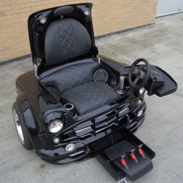 Gaming Chair From Mini Cooper