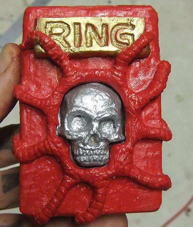 Shannon Larratt Plastic Skull Doorbell