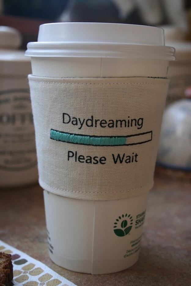 Geek Inspired Coffee Cup Sleeves