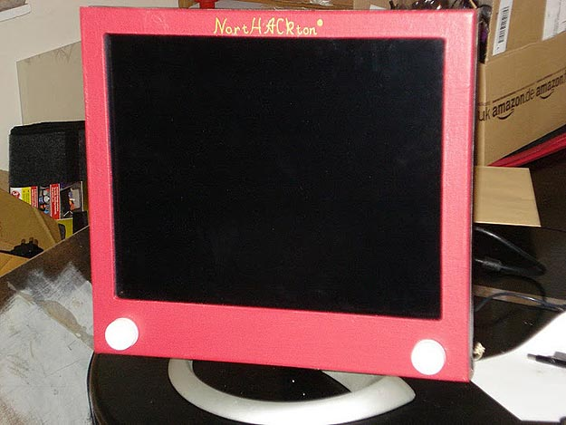 Etch A Sketch Hack