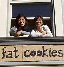 Fat Cookies: Get Your Cookies Delivered On A String