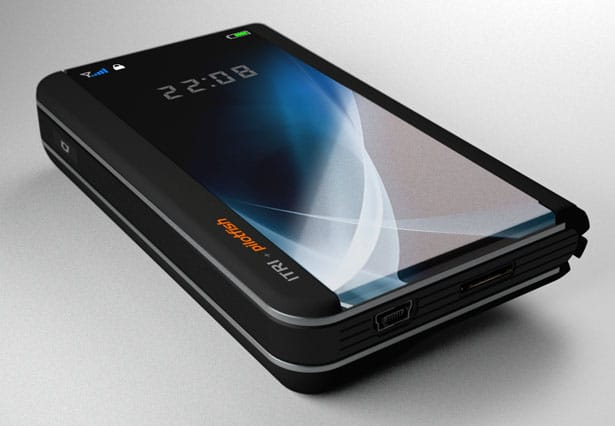 Future OLED Cell Phone Render