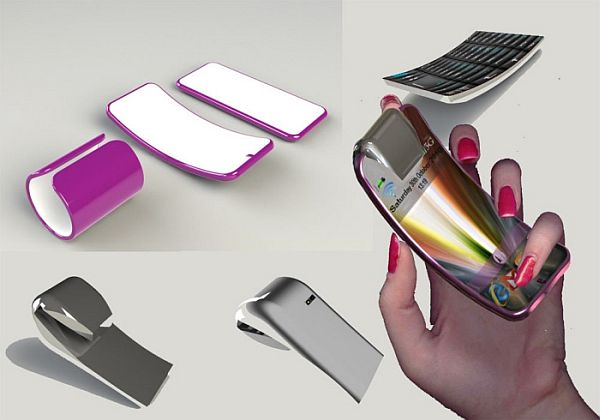 Bending Flexibility Cell Phone Concept