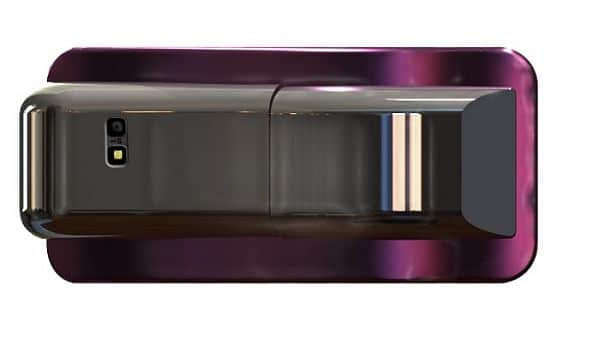 Rear Angle View Of Flexiphone