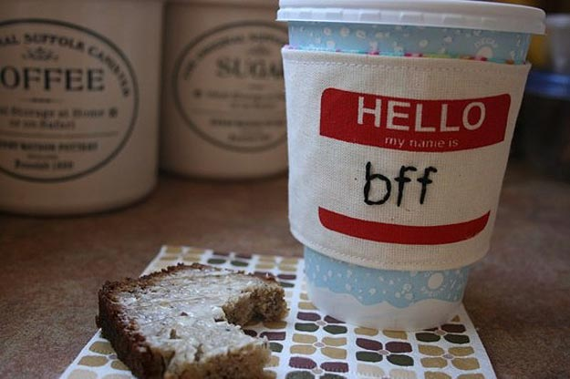 Geek Inspired Coffee Cup Sleeves
