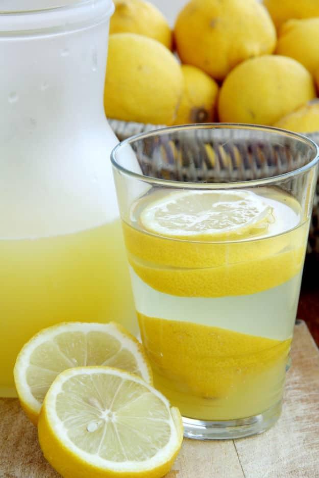 Add Lemon In Your Drink