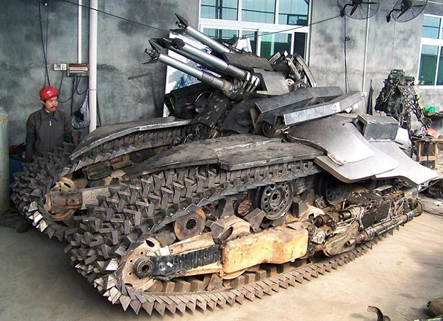 Whoa! Transformers Inspired Steel Megatron Tank Design