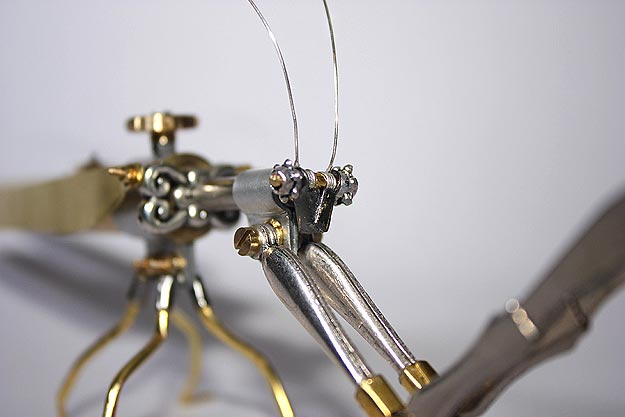 Nature Meets Art Steampunk Insects