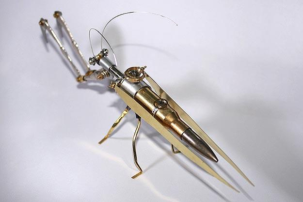 Steampunk Biology Bug Lesson