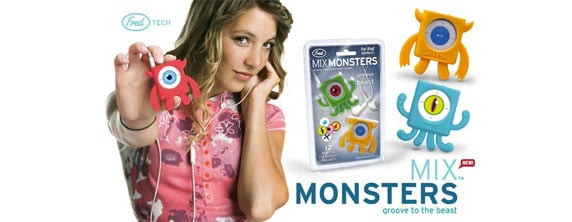 Mix Monsters iPod Shuffle Promotion
