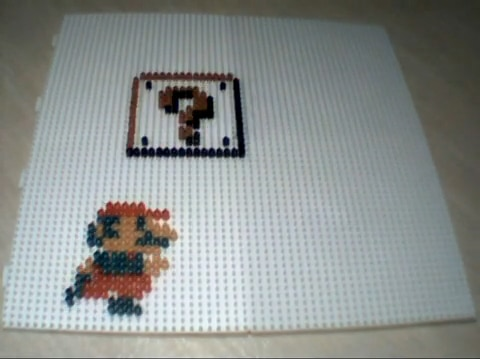 Super Mario Beads Stop Motion