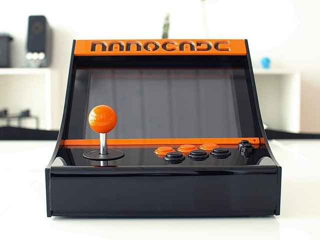 Front View Of Nanocade Console