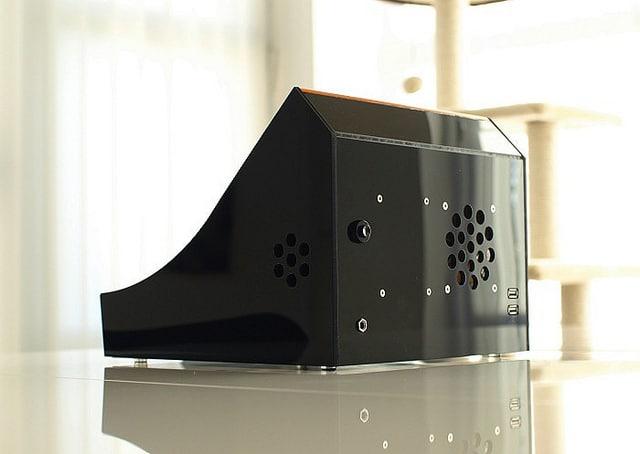 Rear View of Nanocade Console