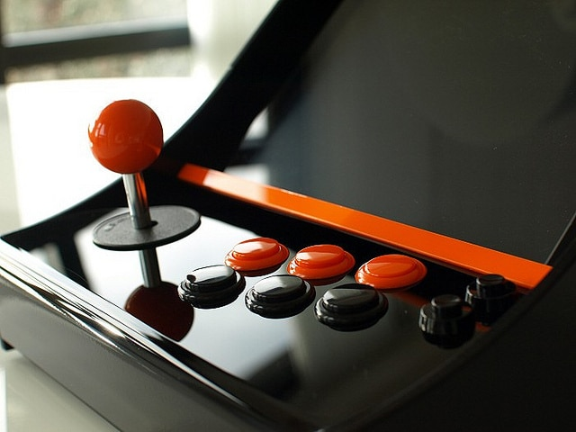 Joystick And Buttons Nanocade Console