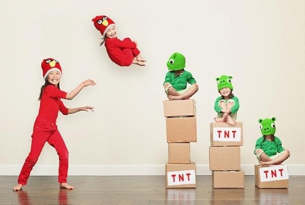Angry Birds Kids Air Battle