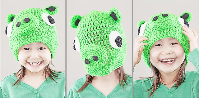 Angry Birds Green Pig Hat