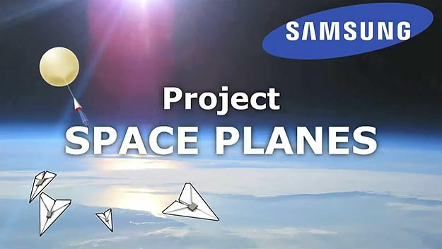 Project Space Planes: Geeky Paper Airplanes Fall From Space