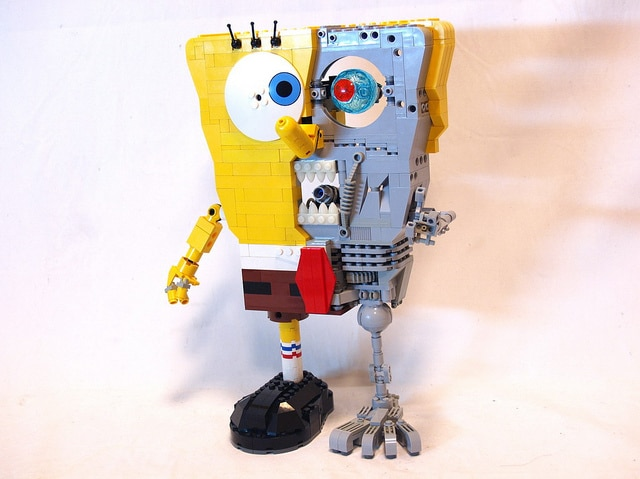 Front View Sponge Bob Terminator