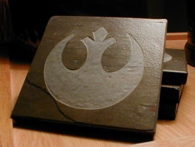 Star Wars Symbol Beer Coaster