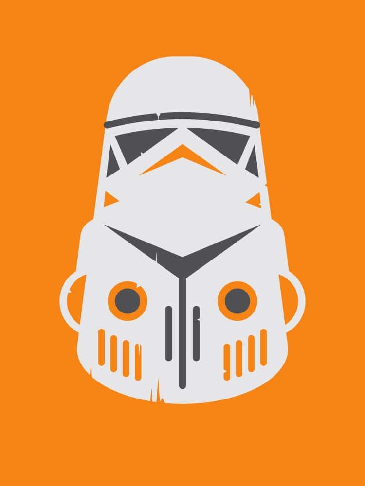 Stormtrooper Zulu Warrior Mask Design