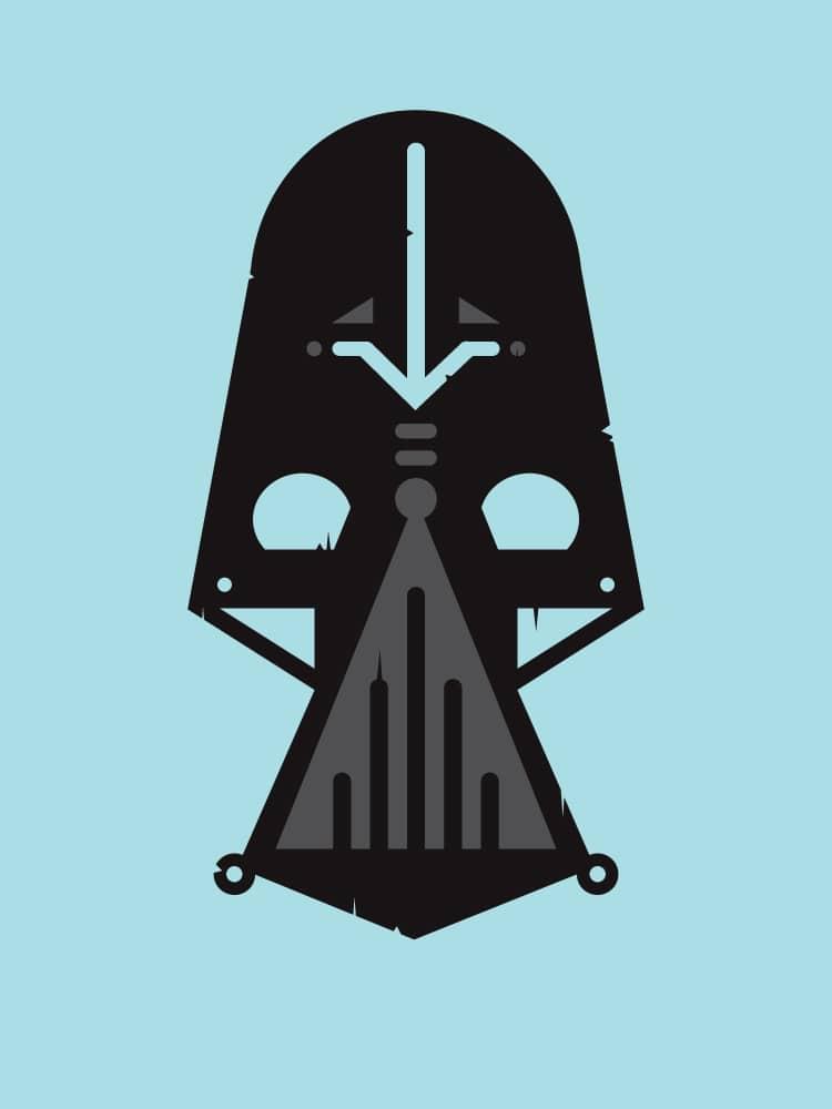 Darth Vader Zulu Warrior Mask