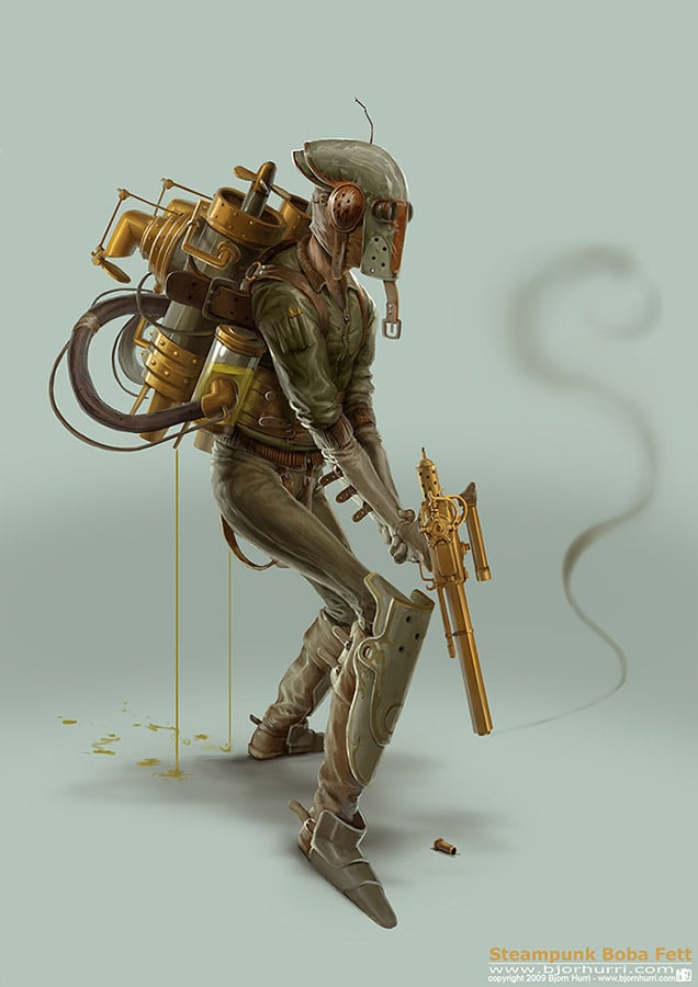 Star Wars Steampunk: How Star Wars Should Have Been?