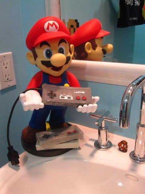 Super Mario Soap Nintendo Controller