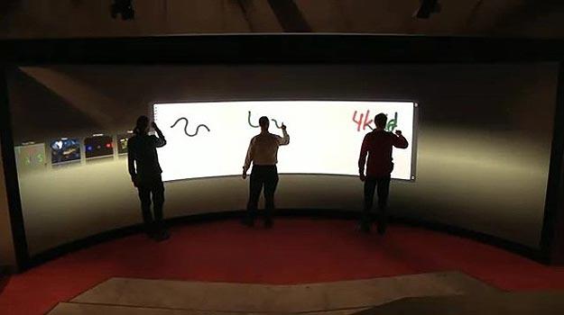 University Creates Largest Touchscreen