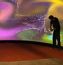 The World's Largest Touchscreen