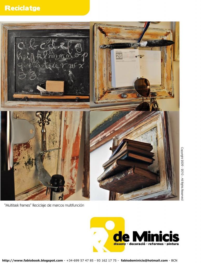 Frames Holds Books Blackboard Calculator
