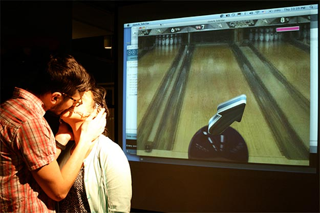The Kiss Controller: Video Game Controlled By Smooches