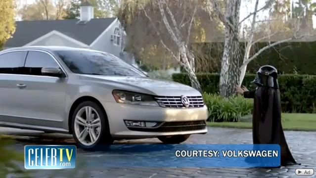Baby Darth Vader Volkswagen Commercial