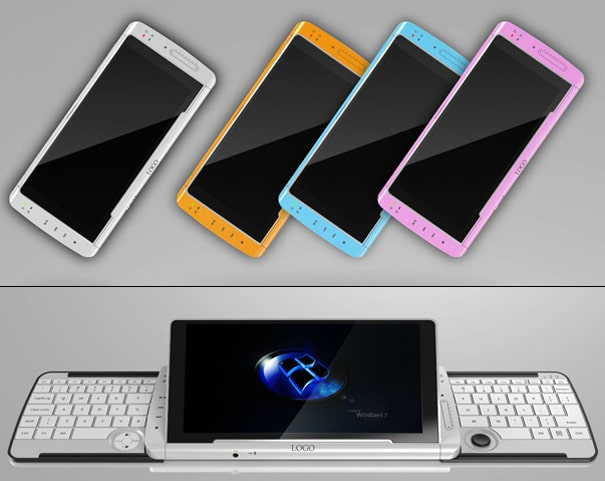 Keyboard Phone: New Revolutionary Concept Cell Phone