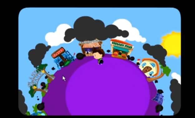 Environmental Game On Facebook