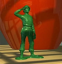 Creative Inspiration: The Toy Army Men With A Message